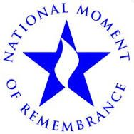 National Moment of Remembrance logo