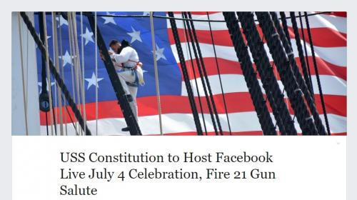 4th of July at the USS Constitution Simulcast