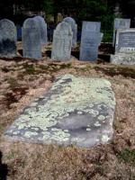 Old gravestones - very weathered and eroded