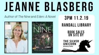 Author Talk: Jeanne Blasberg