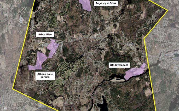 Stow Active Adult Neighborhood Overlay District