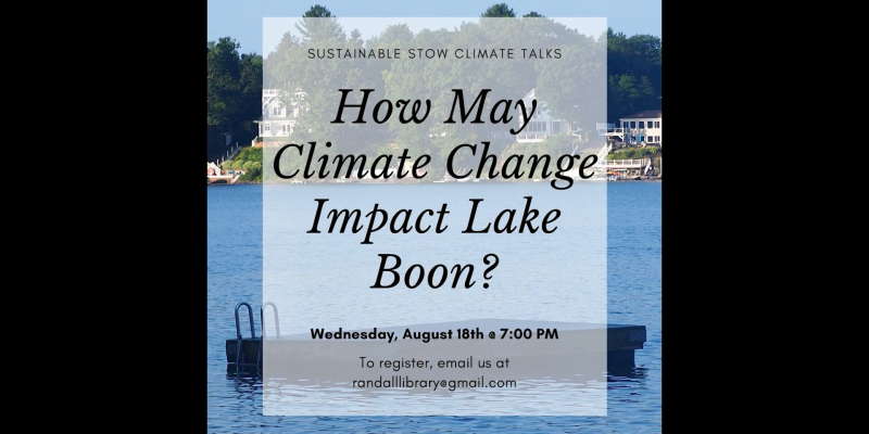 How Might Climate Change Effect Lake Boon?
