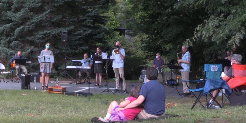 First Parish Jazz Service.
