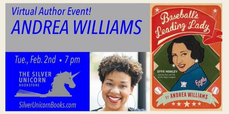 Silver Unicorn Books- A Williams- Baseballs Leading Lady