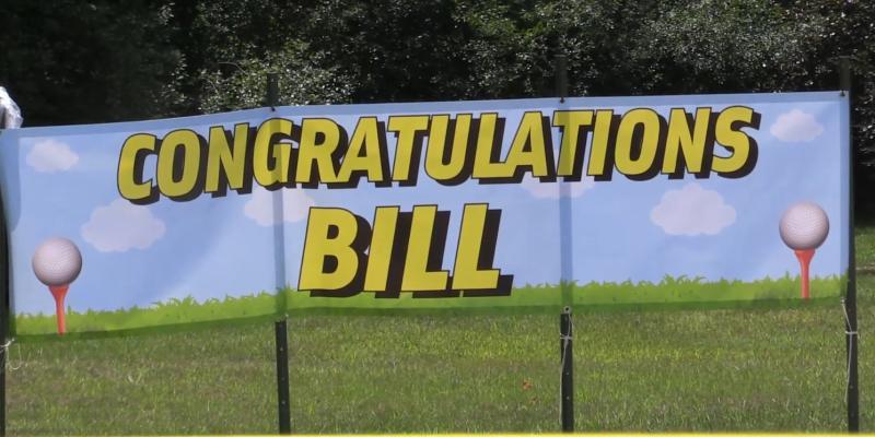 Stow says farewell to TA Bill Wrigley!